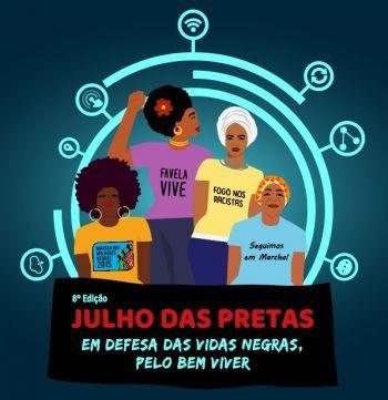 Debate sobre educação e pandemia abre a programação do Julho das Pretas da Organização de Mulheres Negras Rejane Maria