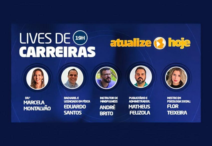 Empreendedorismo: Unit promove o 'Lives de Carreiras'