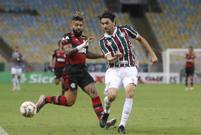 Jesus diz que Flu jogou para ganhar desta vez: 'Uma equipe como o Flamengo'