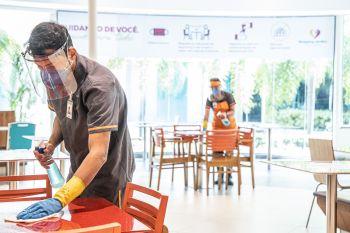 Praças de Alimentação e restaurantes dos shoppings Jardins e RioMar Aracaju retomam o funcionamento nesta quarta-feira