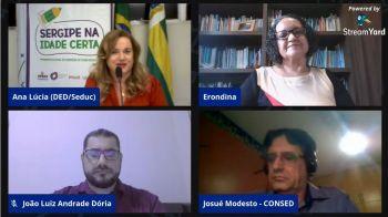 Secretaria de Estado da Educação e Unicef lançam caderno pedagógico do Programa Sergipe na Idade Certa