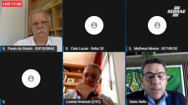 Setur debate turismo sergipano com presidente da CVC e do Sebrae Sergipe