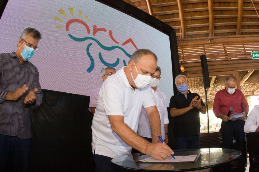 Avança Sergipe: Belivaldo Chagas autoriza novos trechos da Orla Sul em Aracaju