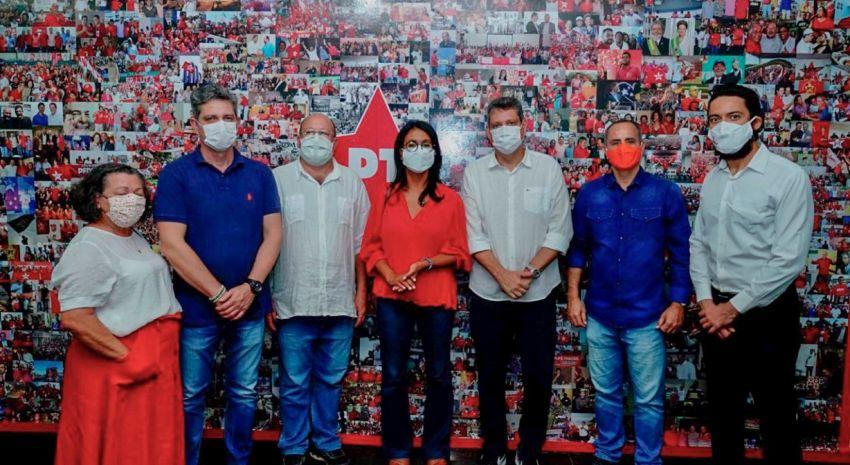 PT e PROS declaram apoio a Edvaldo Nogueira no segundo turno