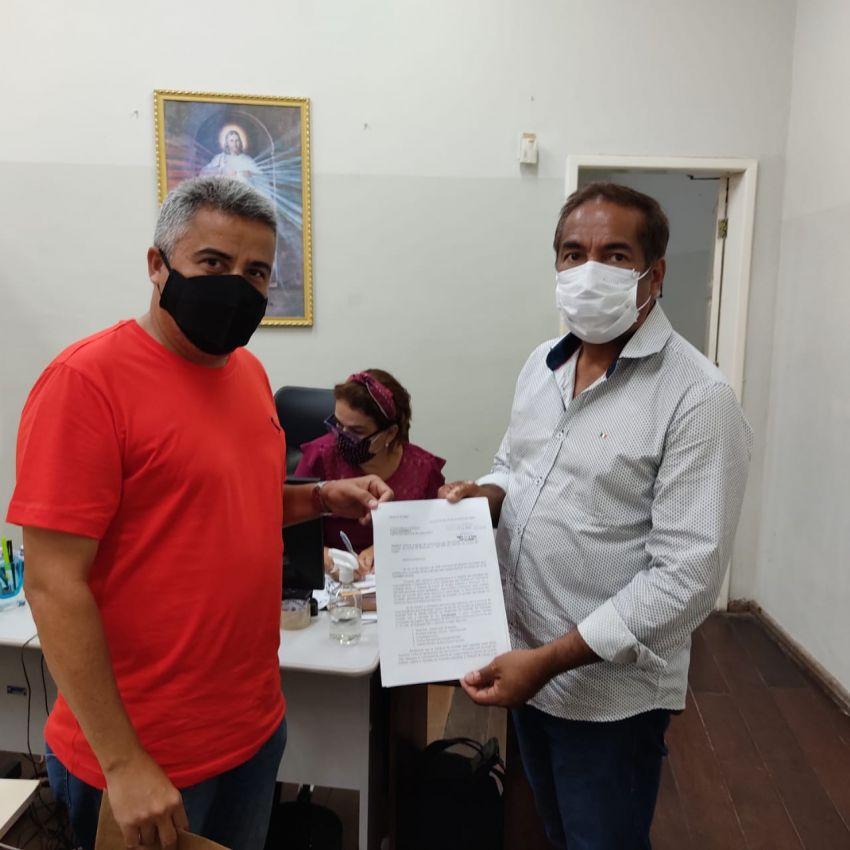 Laranjeiras: equipe de transição de Juca protocola ofício na Prefeitura