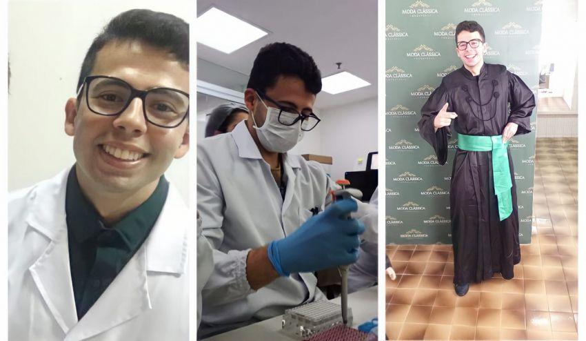 Biomédico de Itabaiana é contratado pelo Grupo Pardini em São Paulo