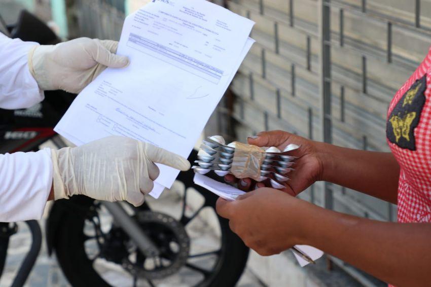 Case inicia a terceira etapa de entrega domiciliar de medicamentos de novembro