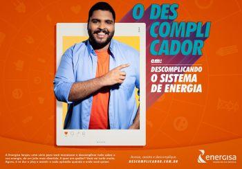Energisa lança websérie 'O Descomplicador' com ator Paulo Vieira