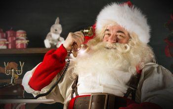 Fone do Noel conecta as famílias à magia do Natal