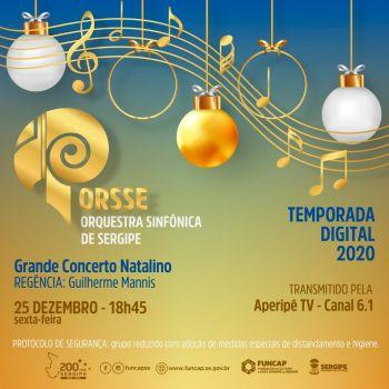 Grande Concerto Natalino marca episódio da Temporada Digital da Orsse
