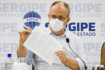 'Temos câmaras frias que vão abrigar as vacinas e transportá-las na temperatura ideal', diz Belivaldo Chagas