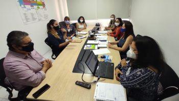 Vereadora Linda Brasil trata demandas da população com a Secretaria Municipal de Saúde