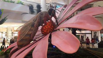 Últimos dia da exposição Natureza Gigante no RioMar Aracaju