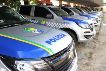 Governo do Estado entrega 90 novas viaturas às polícias Civil e Militar de Sergipe