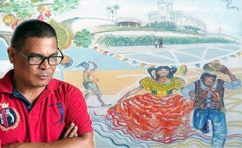 Artista plástico Edidelson Silva apresenta exposição 'Humanos e Urbanos Aracajuanos' no Shopping Jardins