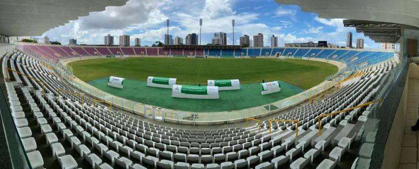 Após revitalização do gramado, Arena Batistão reabre as portas com partida entre Sergipe e Lagarto