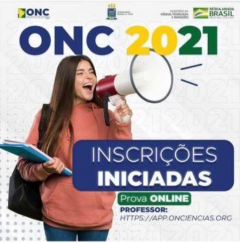 Olimpíada Nacional de Ciências 2021 abre inscrições