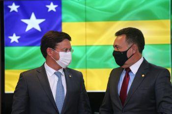Heleno Silva pede ao ministro da Cidadania apoio na liberação de cestas básicas para Sergipe