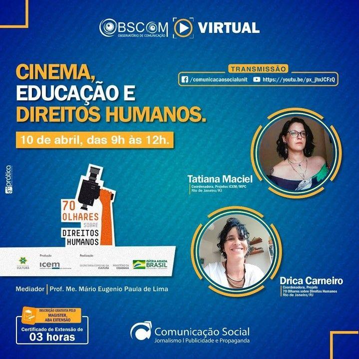 Vem aí mais uma edição do Obscom Virtual, a primeira de 2021
