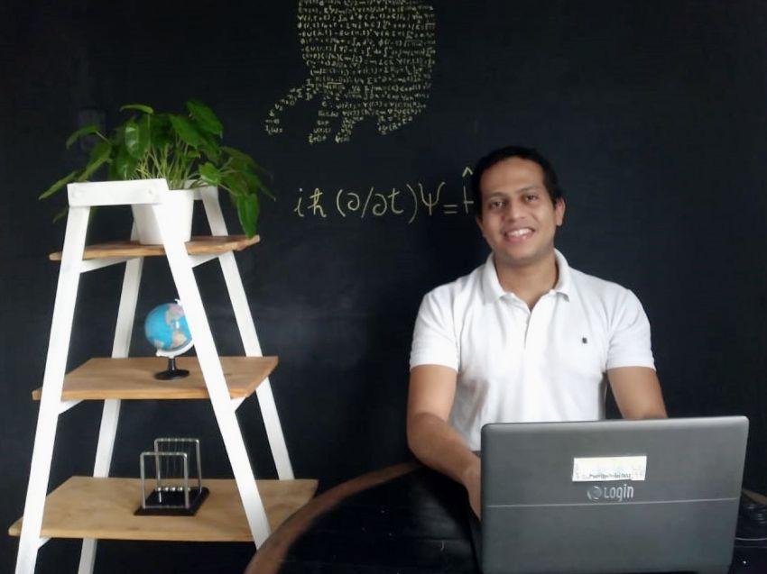 Professor da rede estadual cria o Fisicaflix para incentivar alunos nas aulas remotas