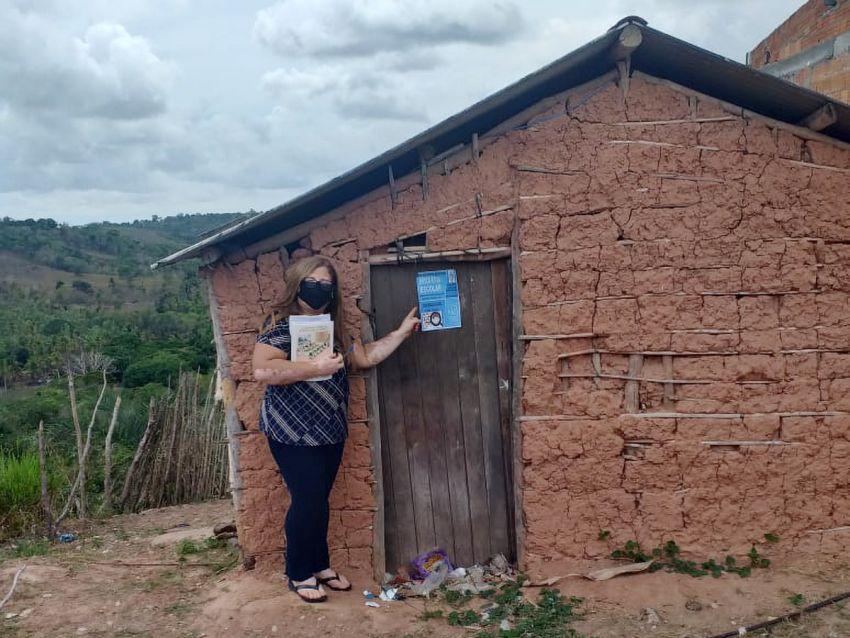 Busca Ativa Escolar reconduz 1616 alunos às escolas de Sergipe
