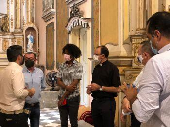Laranjeiras: Prefeitura, IPHAN e Arquidiocese firmam intenção de parceria para restaurar igrejas históricas