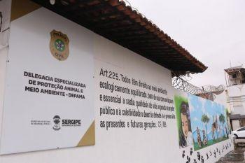 Governo do Estado e Polícia Civil inauguram Delegacia de Proteção Animal e Meio Ambiente, em Aracaju