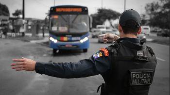 Roubos a ônibus caem 74,12% na Grande Aracaju