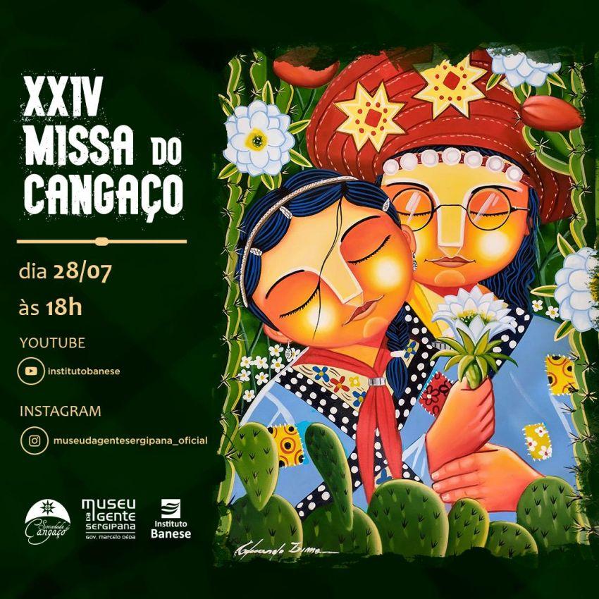 XXIV Missa do Cangaço será transmitida ao vivo do Museu da Gente Sergipana