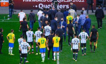 Fifa lamenta ocorrido em Brasil x Argentina e analisa relatório oficial