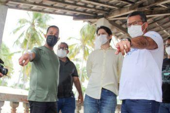 Setur faz visita técnica em Indiaroba e aborda infraestrutura turística