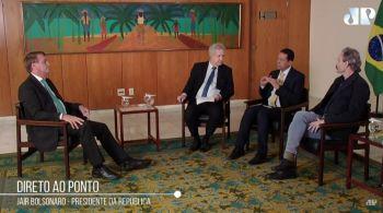Bolsonaro diz que 'será um prazer' debater com Lula
