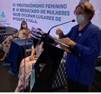 Senadora defende igualdade de direitos e oportunidades entre homens e mulheres